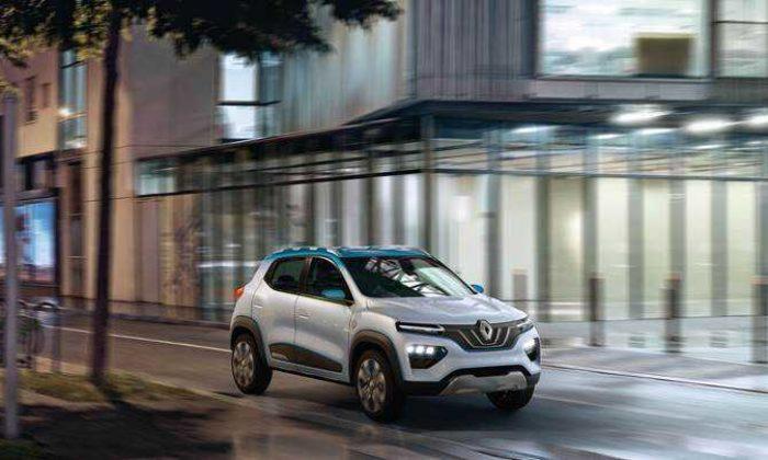 Renault'dan uygun fiyatlı elektrikli crossover: Renault K-ZE
