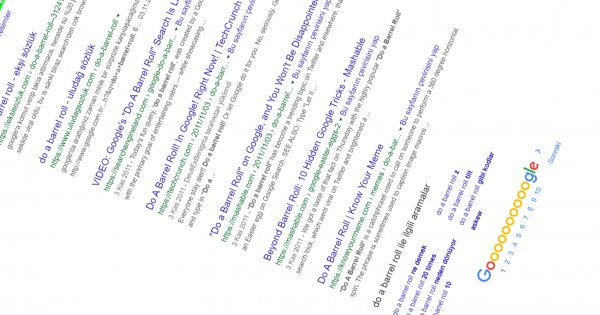 Google'ın arama sonuçlarına gizlediği 5 eğlenceli yöntem
