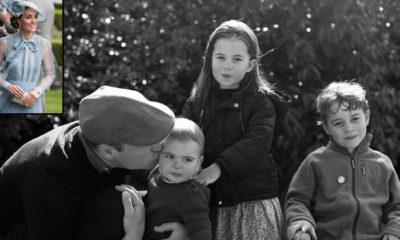 Prens William çocuklarıyla birlikte poz verdi: Peki ya Kate Middleton nerede?