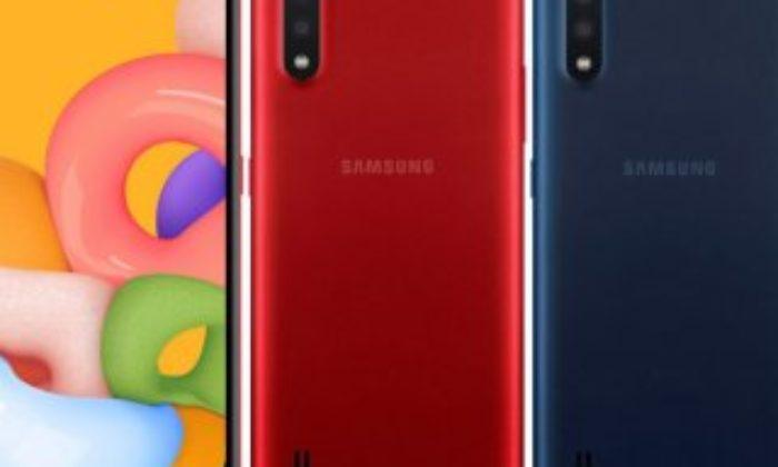 Samsung, düşük bütçeli telefonu Galaxy A01'i tanıttı