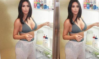Buzdolabının kapılarını açtı