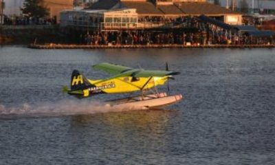 Dünyanın ilk elektrikli ticari deniz uçağı havalandı