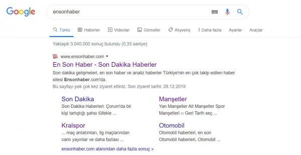 Google'ın arama görünümünü değiştirmesi tepki çekti