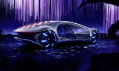 Mercedes'in Avatar'dan ilham aldığı otomobili: Vision AVTR