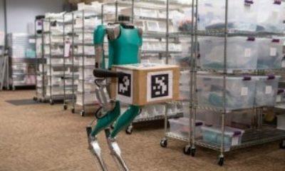 Postacı robot Digit satışa çıkmaya hazırlanıyor Postacı robot Digit satışa çıkarıldı VİDEO