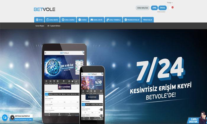 Betvole Online Spor Bahisleri ve Casino