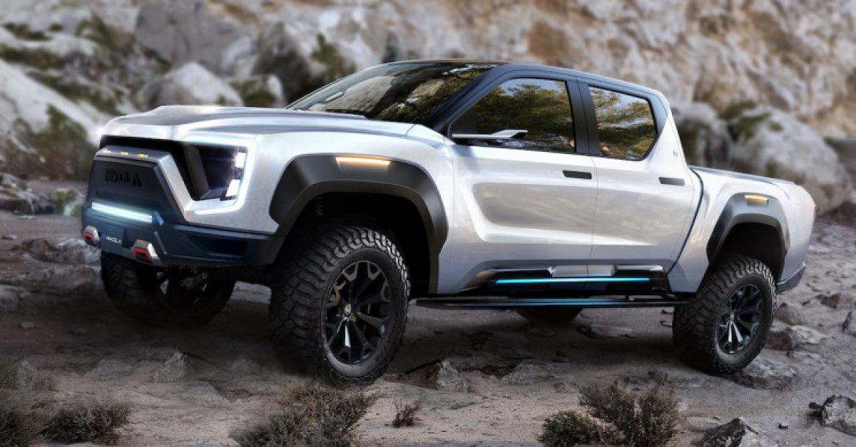 Nikola Motors, yeni elektrikli kamyonet konseptini tanıttı
