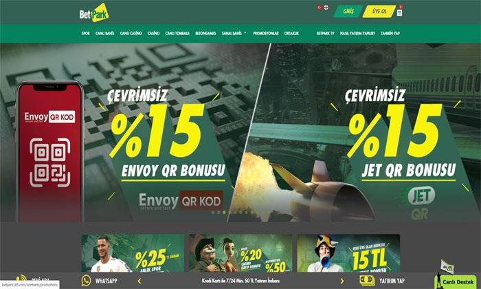 Betpark Online Maç Bahis Sitesi