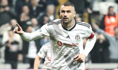 Burak Yılmaz Beşiktaş'ta kendisini yakaladı