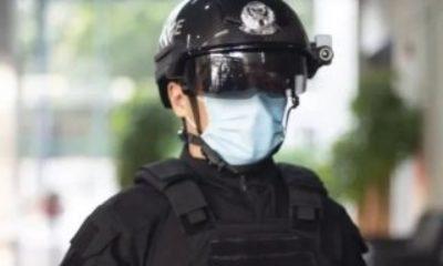 Çinli polisler, yapay zekalı termal tarama kaskları kullanıyor Çinli polislerin kullandığı termal kameralı kasklar – VİDEO