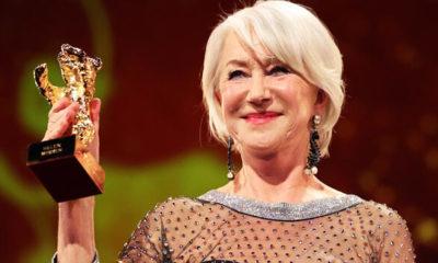 Helen Mirren'a Onursal Altın Ayı ödülü