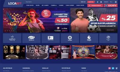 Locabet Online bahis ve Casino Sitesi