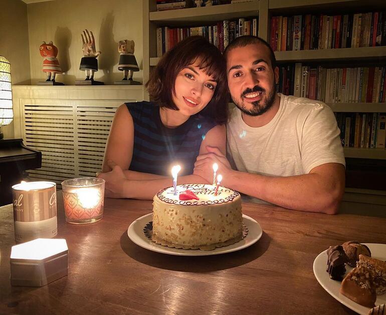 Mustafa Aksakallı sevgilisi Ezgi Molanın doğum gününü kutladı: Her şeyim iyi ki doğdu