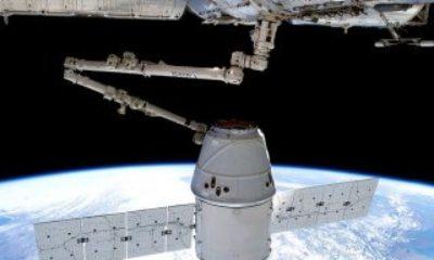 SpaceX'in kargo mekiği Uluslararası Uzay İstasyonu'na ulaştı