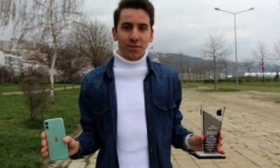 Trabzon'da lise öğrencisi Apple'ın açığını buldu