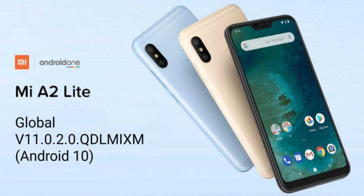 Xiaomi Mi A2 Lite modeline Android 10 güncellemesi geldi