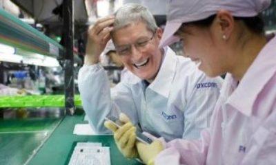 Apple tedarikçisi Foxconn'un satışları azaldı