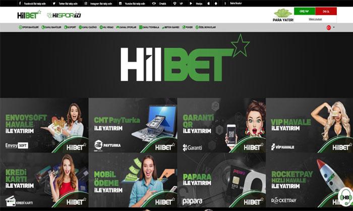 Hilbet Casino Servisleri ve Bahis Oyunları