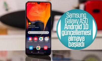 Samsung, Galaxy A50 modeline Android 10'u dağıtmaya başladı