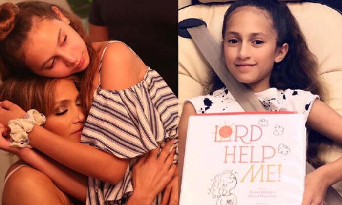 Jennifer Lopez'in 12 yaşındaki kızı Emme kitap yazdı