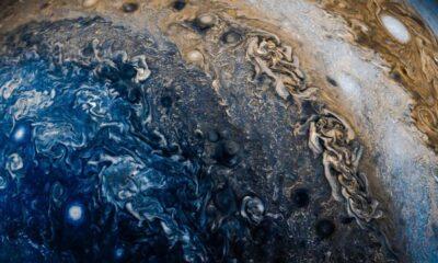 Jüpiter'in yüksek çözünürlüklü fotoğrafları paylaşıldı