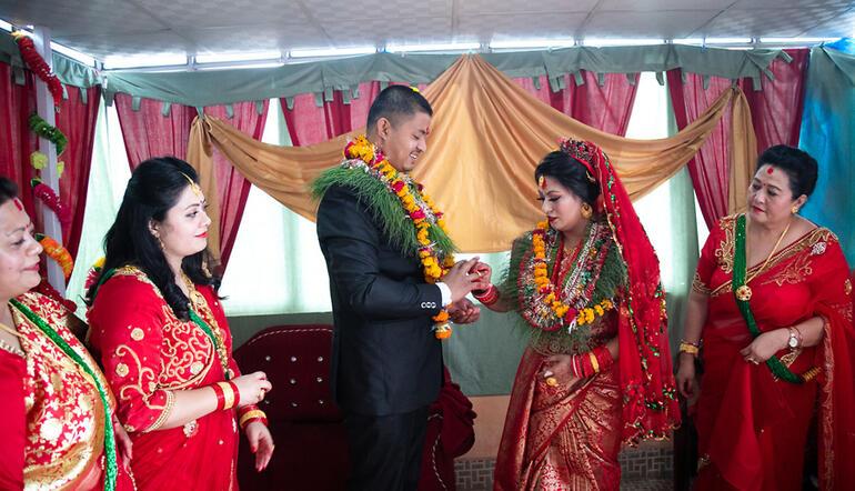 Katmandu düğünü
