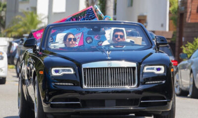 Zenginlik arabadan taştı!