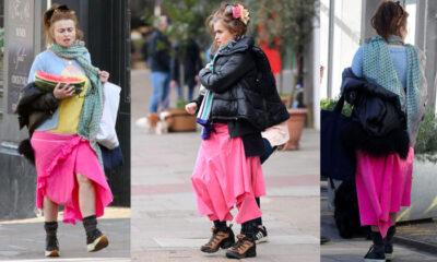 10 aydır aynı etek: Yaz- kış giyiyor