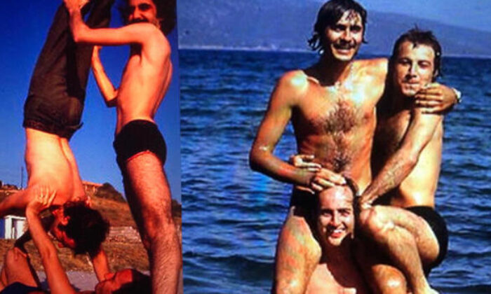 Bu fotoğraflar 45 yıl önce çekildi! 'Üstte Ayhan, altta Fuat, yanda ben…'