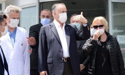 Mustafa Cengiz hastaneden taburcu edildi