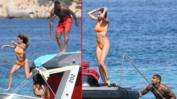Beşiktaş'ta top koşturuyordu: Karısına deniz şakası