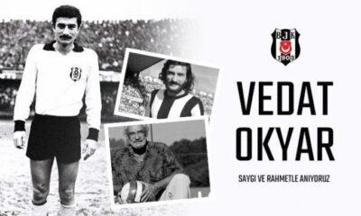 Beşiktaş, Vedat Okyar'ı andı