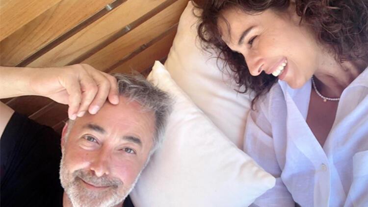 Mehmet Aslantuğ'dan eşi Arzum Onan'a romantik mesaj