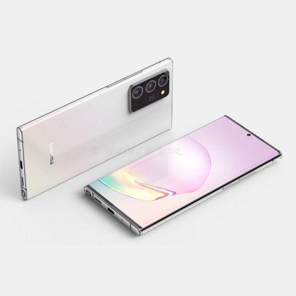 Samsung Galaxy Note 20'nin gerçek fotoğrafları sızdırıldı