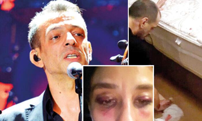 Son dakika haberi: Şiddet bu kez Rubato'nun solistinden: Yerdeki kanları temizledi