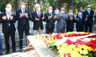 Ali Sami Yen, vefatının 69. yıl dönümünde kabri başında anıldı