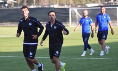 BB Erzurumspor, sezonun ilk antrenmanını yaptı