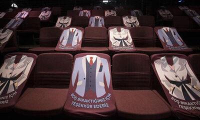 Devlet Tiyatroları'nda koronavirüs önlemleri