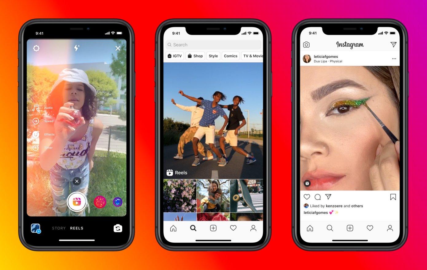 Instagram, TikTok benzeri özelliği Reels'ı kullanıma açtı