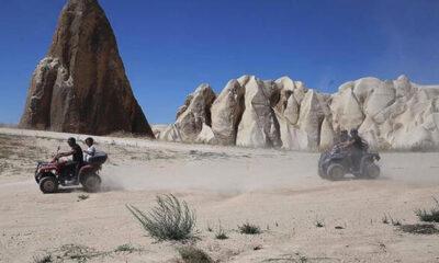 Kapadokya pandemi sürecinde yerli turistleri ağırlıyor