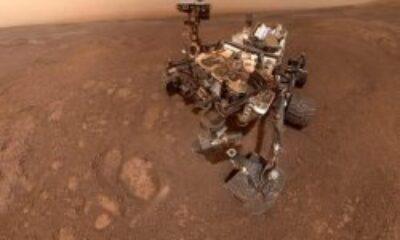 NASA'nın Mars aracının çektiği etkileyici fotoğraflar