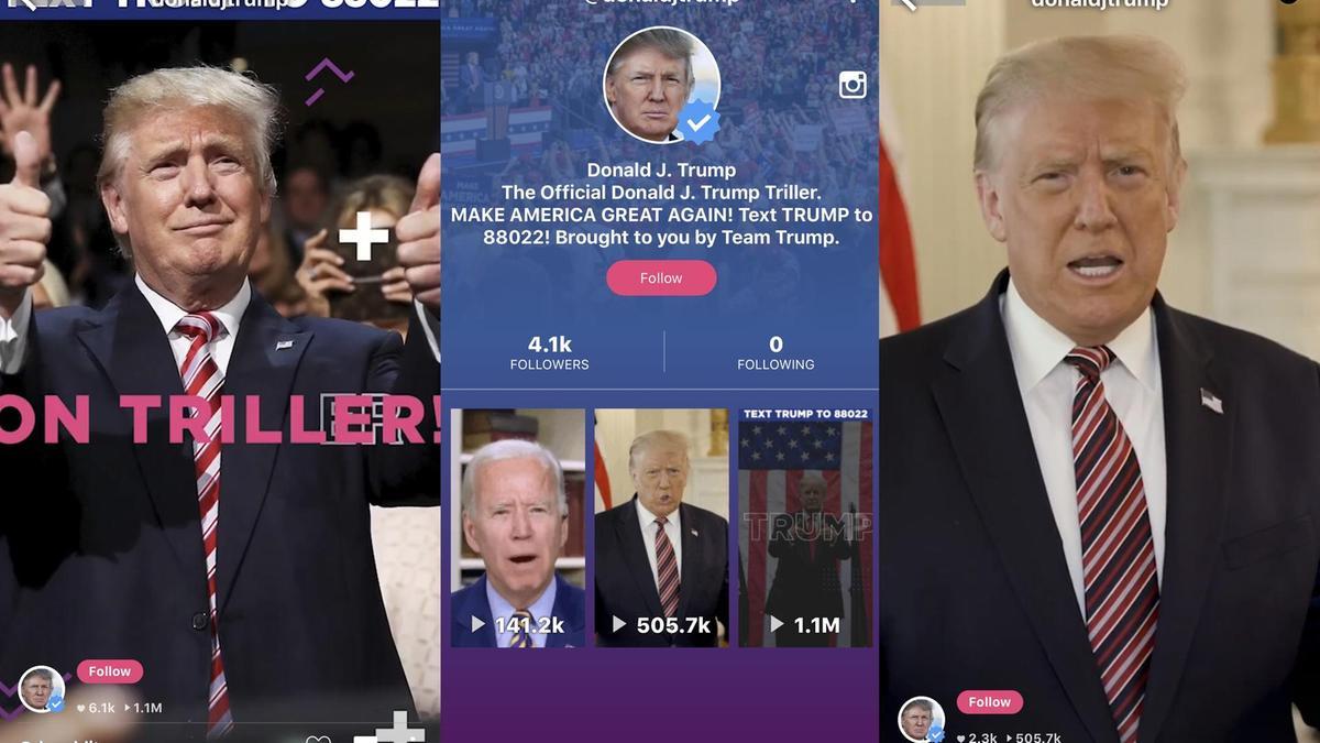 Donald Trump, TikTok un rakip uygulamasında hesap açtı #1