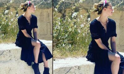 Amber Heard Kapadokya'ya geçti: Türkiye'yi karış karış geziyor