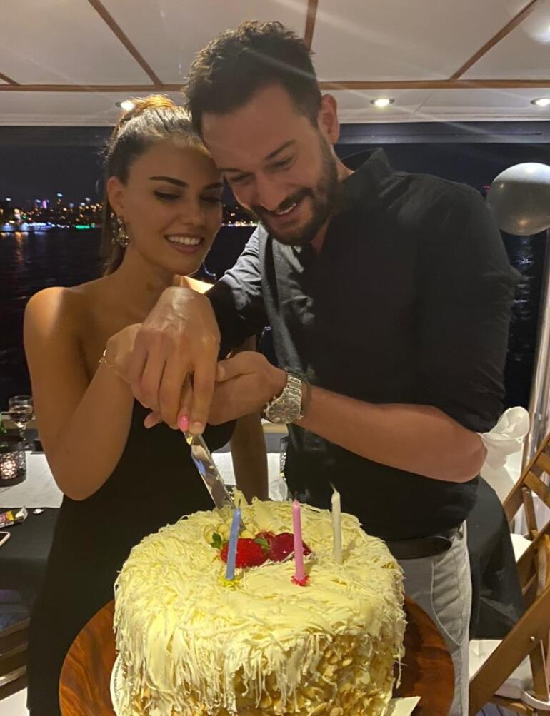 Boğaz'da kutlama doğum günü kutlaması