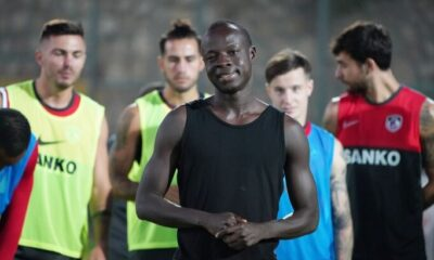 Gaziantep FK, Chibsah ile yollarını ayırdı