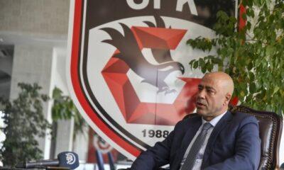 Gaziantep FK'da istifa: Fatih İbradı