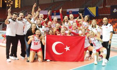 Onlar Avrupa Şampiyonu… 'Çok iyi işler başaracağız,bizi izlemeye devam edin!'