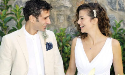 Oyuncu Gaye Gürsel, 20 yıllık sevgilisi Jeff Treves ile evlendi!