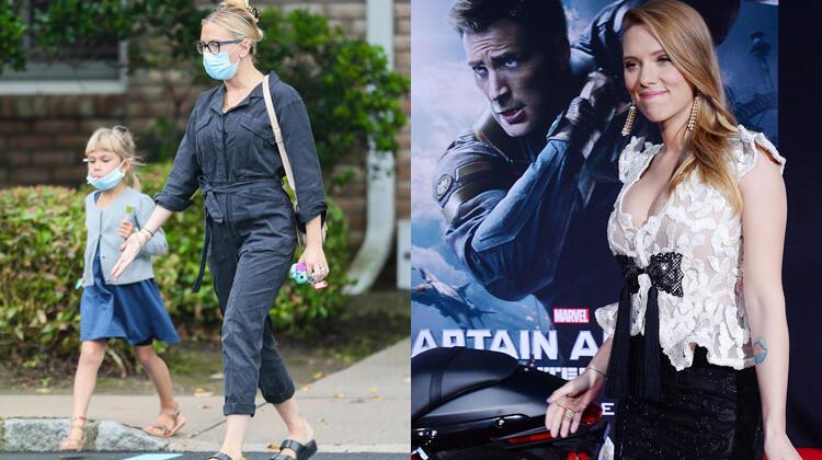 Scarlett Johansson kızını büyüttü