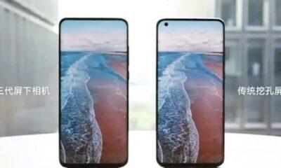 Xiaomi'nin ekran altı kameraya sahip telefonları gelecek yıl satışta: İşte yeni video
